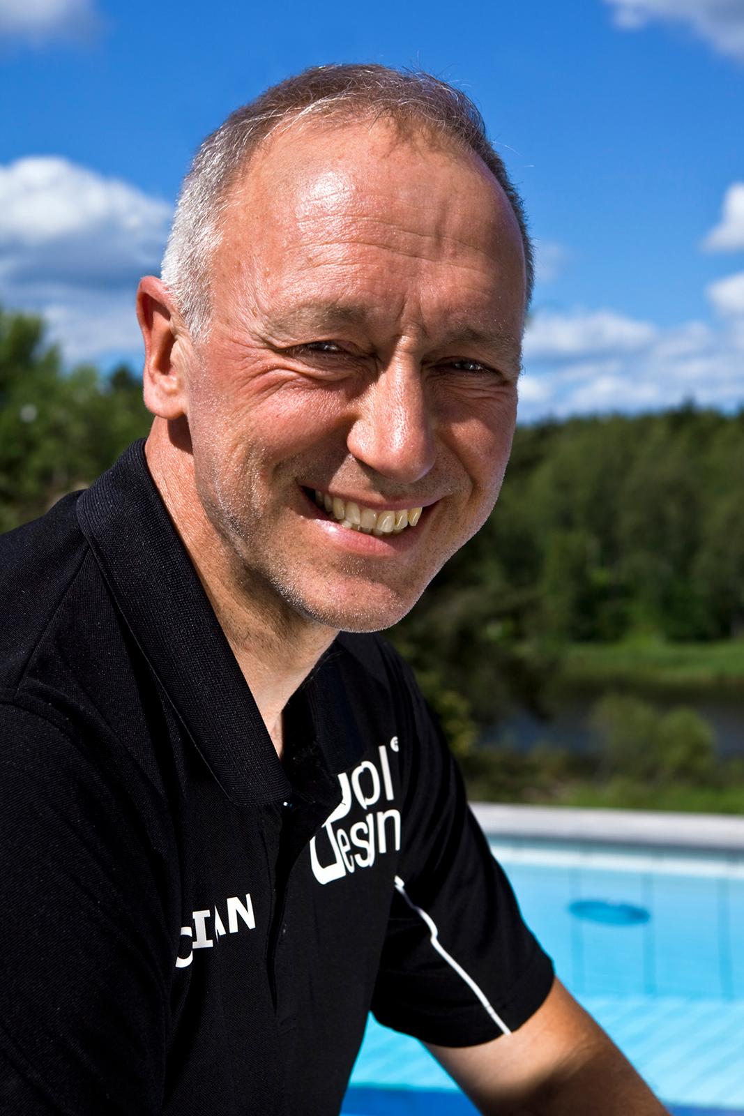 Christer Rylander grundare av PoolDesign Stockholm AB